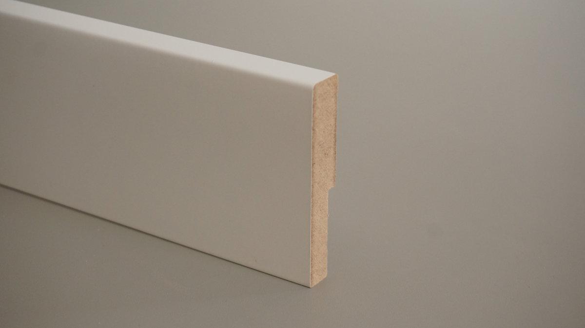 MDF grīdlīste krāsota 12x100mm (tekošie metri)