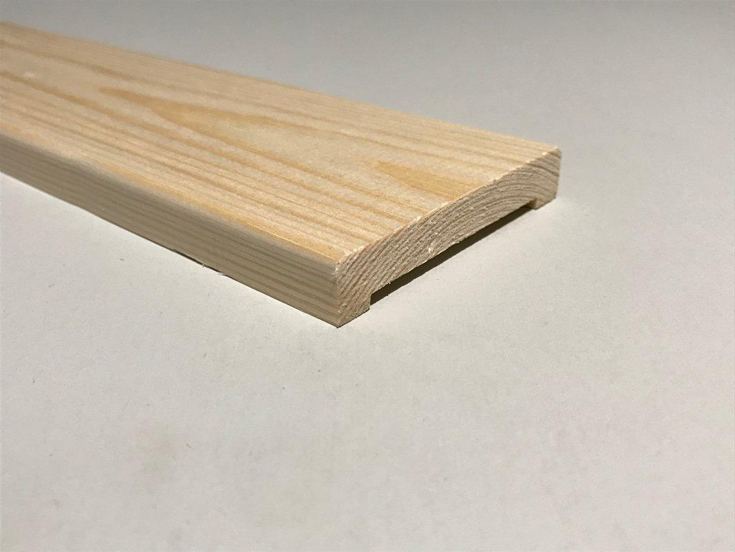 Durvju aplodas (komplekts2,5.gab) 12x70x2200mm