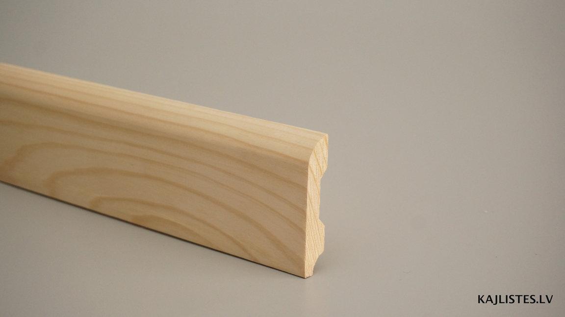 Koka grīdlīste 14x60mm (tekošie metri)