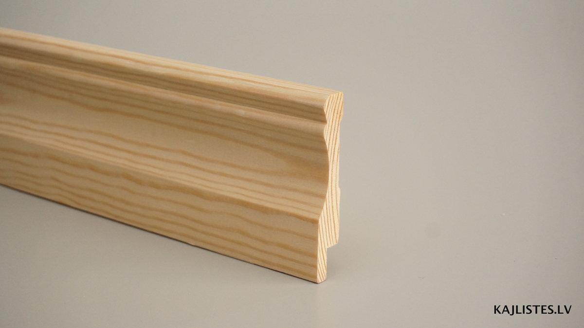 Koka grīdlīste 15x90mm (tekošie metri)