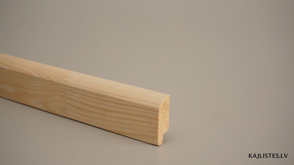 Koka grīdlīste 16x45mm (tekošie metri)