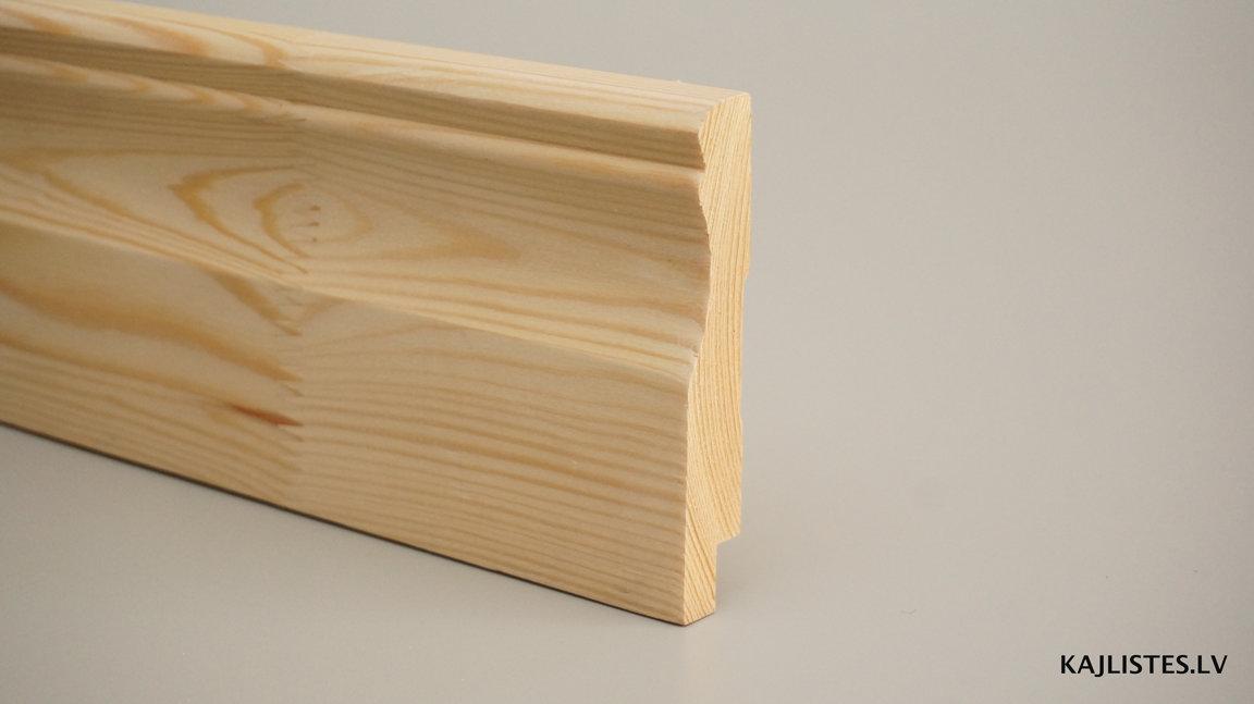 Koka grīdlīste 20x115mm (tekošie metri)