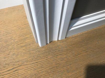 Krāsotas durvju aplodas 16x95mm komplekts (2,5.gab.)