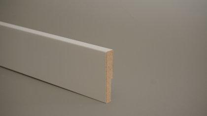 MDF grīdlīste krāsota 12x60mm (tekošie metri)