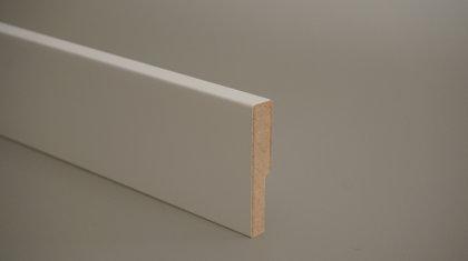MDF grīdlīste krāsota 12x70mm (tekošie metri)