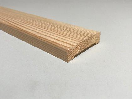 Durvju aplodas (komplekts2,5.gab) 12x58x2200mm