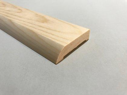 Durvju aplodas (komplekts2,5.gab) 13x55x2200mm