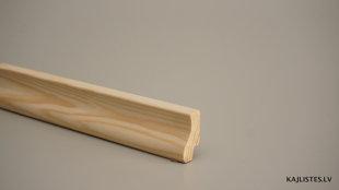 Koka grīdlīste 20x40mm (tekošie metri)