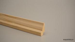 Koka grīdlīste 23x45mm (tekošie metri)