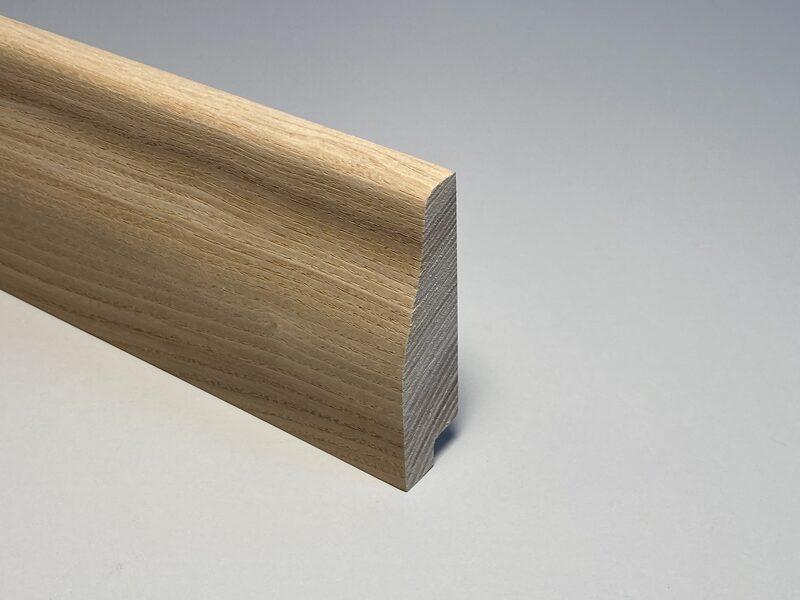 Oša masīvkoka grīdlīste neaudzēta 20x70mm (tekošie metri)