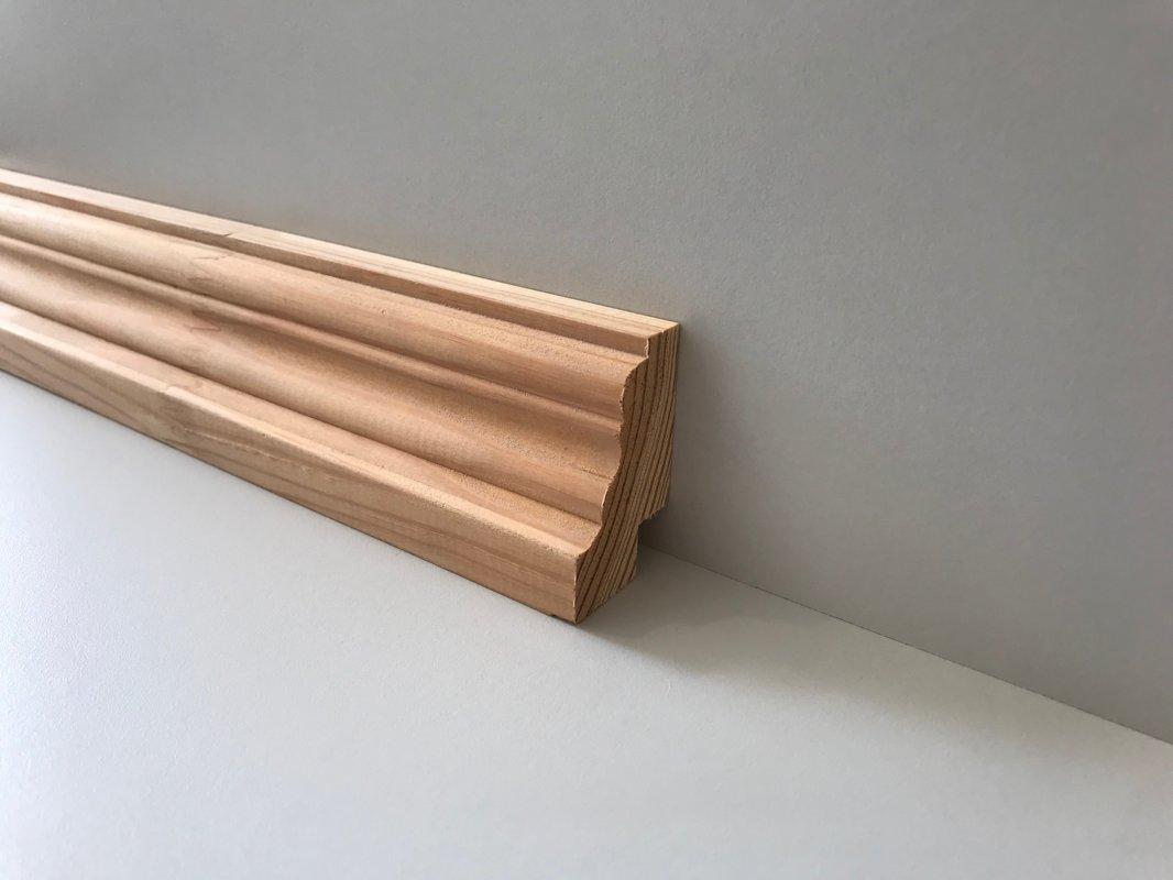 Koka grīdlīste 28x45mm (tekošie metri)